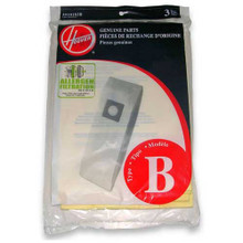 3 Hoover 4010103B Type B vacuum bags allergen filtration for