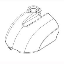 Betco E2049000 solution tank for Genie auto scrubber