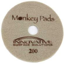 Monkey Diamond Floor Pads 17 inch 200 grit brown for polishi