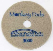 Monkey Diamond Floor Pads 17 inch 3000 grit blue for polishi