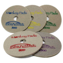 Monkey Diamond Floor Pads 20 inch 5 pad combo for polishing