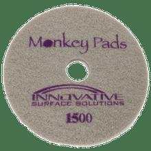 Monkey Diamond Floor Pads 17 inch 1500 grit for polishing st