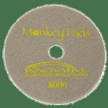 Monkey Diamond Floor Pads 17 inch 8000 grit for polishing st