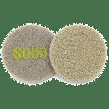 Monkey Diamond Floor Pads 5 inch 8000 grit for polishing sto