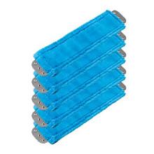 Unger MM40B SmartColor blue antibacterial microfiber mops he