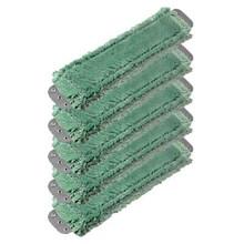 Unger MM400 SmartColor green antibacterial microfiber mops h