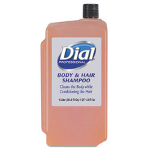 Body & Hair Care, Peach, 1 L Refill Cartridge, 8/Carton