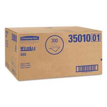 X60 Towels, Flat Sheet, 22 1/2 x 39, White, 100/Box, 3 Boxes/Carton