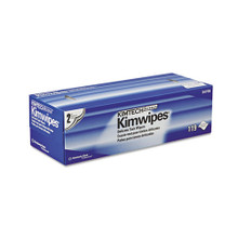 KIMWIPES Delicate Task Wipers, 2-Ply, 11 4/5 x 11 4/5, 119/Box, 15 Boxes/Carton