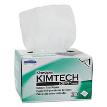 KIMWIPES, Tissue, 4 2/5 x 8 2/5, 280/Box, 30 Boxes/Carton