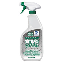 Crystal Industrial Cleaner/Degreaser, 24oz Bottle, 12/Carton