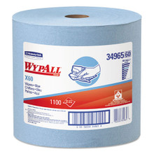 X60 Wipers, Jumbo Roll, 12 1/2 x 13 2/5, Blue, 1100/Roll