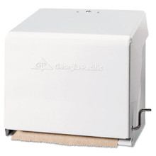 Mark II Crank Roll Towel Dispenser, 10 3/4 x 8 1/2 x 10 3/5, White