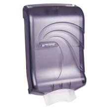San Jamar SJMT1790TBK paper hand towel dispenser cfold multi