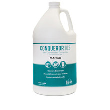 Conqueror 103 Odor Counteractant Concentrate, Mango, 1gal, 4/Carton