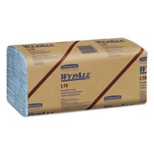 L10 Windshield Towels, 9 1/10 x 10 1/4, 1-Ply, L-Blue, 224/Pack, 10 Packs/Carton