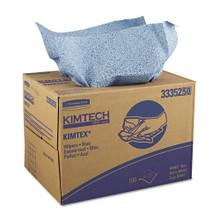 KIMTEX Wipers, 12 1/10 x 16 4/5, Blue, 180/BRAG Box