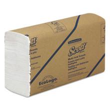 Multi-Fold Paper Towels, 9 1/5 x 9 2/5, White, 250/Pack, 16 Packs/Carton