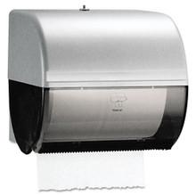Omni Roll Towel Dispenser, 10 1/2 x 10 x 10, Smoke/Gray