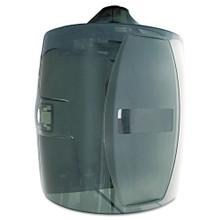 GymWipes Contemporary Wall Dispenser, Smoke Gray