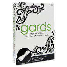 Hospeco hos4147 gards maxi pads number 4, 250 individually b