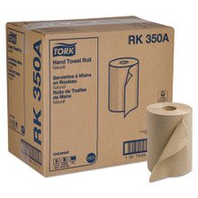 Hard-Roll Towels, Natural, 7 7/8 Wide x 350ft, 5.5 dia, 12 Rolls/Carton