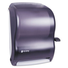 San Jamar SJMT1100TBK paper hand towel dispenser roll towel