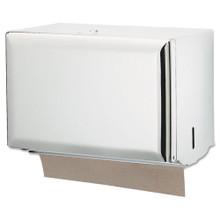 San Jamar SJMT1800WH paper hand towel dispenser singlefold h