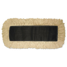 Disposable Dust Mop Head, Cotton, 18w x 5d