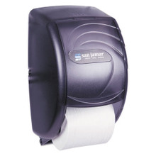 San Jamar SJMR3590TBK standard roll bathroom tissue dispense