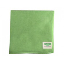 Unger MF400 green microfiber cloths MicroWipe 4000
