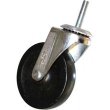 Rubbermaid FG1304L30000 swivel stem caster 4 inch dia.