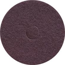 Oreck Orbiter Floor Pad 437049 Brown Scrub 12 inch standard