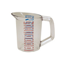 Rubbermaid 3215CLE measuring cup clear 0 RCP3215CLE