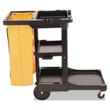 Rubbermaid 617388BLA janitor cart 2000 RCP617388BK