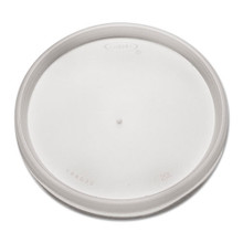 Lid for Foam Containers Translucent Vent DCC20JL