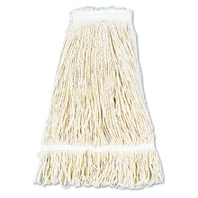 Boardwalk BWK424CCT cotton looped end fantail wet mop h