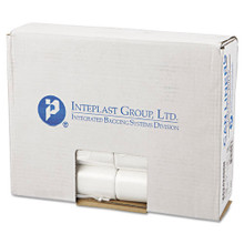 Ibs ibsec242406n 10 gallon trash bags case of 1000 clear 24x