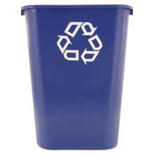 Rubbermaid 295773BLU trash can 10 gallon RCP295773BE