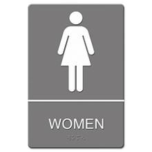 ADA Restroom Sign WOMEN USS4816