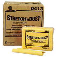 Stretch N Dust Cloths Chicopee Yellow Or CHI0413