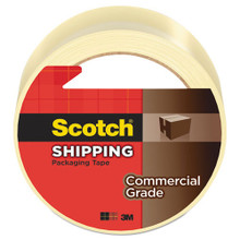 3M 371 Scotch Box Sealing Tape Clear MMM3750260CR 2 inc