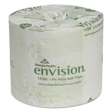 Envision GPC1458001 standard roll bathroom tissue 1 ply 1210