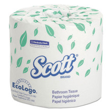 Scott KCC04460 standard roll bathroom tissue 2 ply 605 sheet