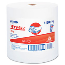 Wypall KCC41600 roll X70 workhorse rags 12.5x13.4 white