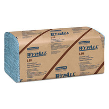 Wypall KCC05120 L10 windshield towels 9.3x10.5 blue cas