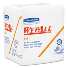 Wypall KCC05701 L40 all purpose white case of 1008 wipe