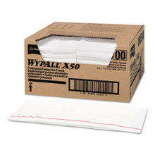 Wypall KCC06053 wipes X50 food service towel quarterfol