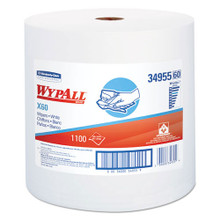 Wypall KCC34955 X60 teri 12.5x13.4 white case of 1100 w