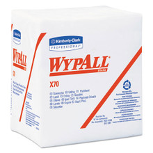 Wypall KCC41200 workhorse rags X70 12.5x14.4 white case